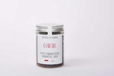 Pot de poivre cubèbe bio de Java sélectionné par Epices Shira