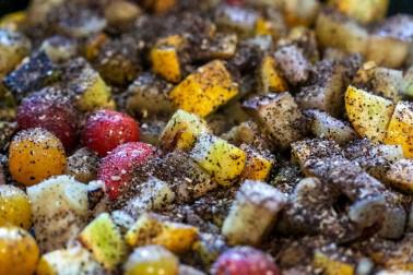 Légumes rôtis au coffee rub
