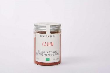 Pot de mélange cajun bio en vente sur notre site Epices Shira
