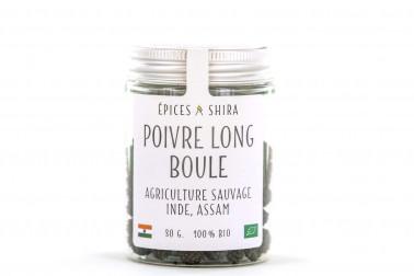 Poivre long boule sauvage (piper longum) en vente sur notre site Epices Shira