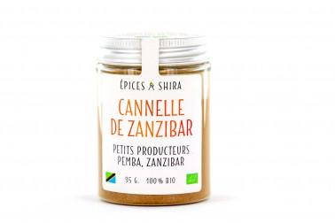 Pot de cannelle biologique de Zanzibar, sélectionné par Epices Shira