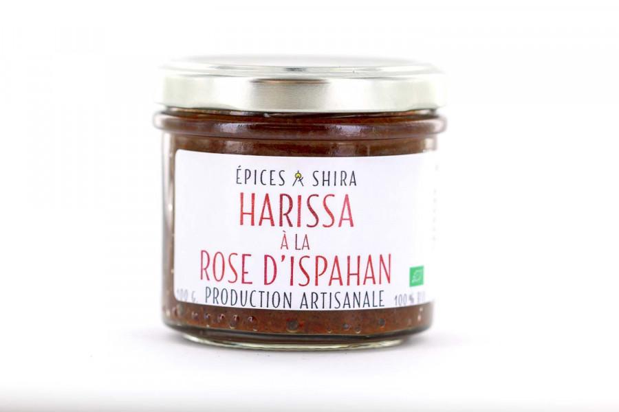 Harissa biologique à la rose d'Ispahan, créée par Epices Shira