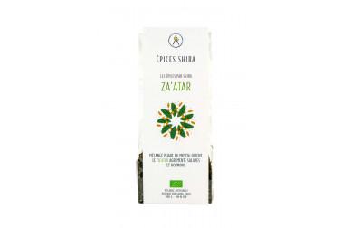Sachet de mélange zaatar biologique en vente sur le site Epices Shira
