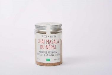 Pot de chaï du Népal bio en poudre en vente sur le site de Epices Shira