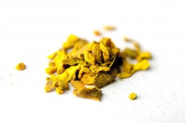 Golden latte bio (lait d'or). Création Epices Shira
