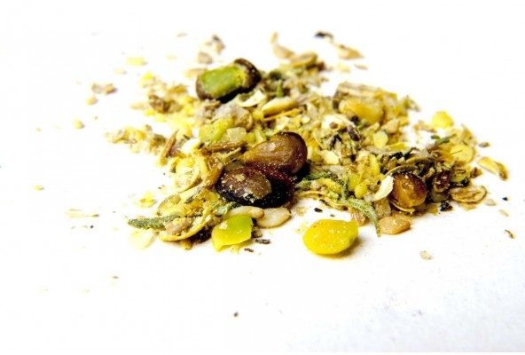 Dukkah bio aux pistaches sauvages