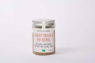 Pot de garam masala bio du Népal en vente sur notre site Epices Shira
