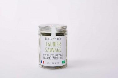 Laurier bio et sauvage (laurus nobilis) du Languedoc, en vente sur notre site Epices Shira
