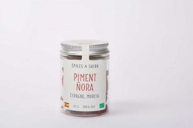 Piment ñora bio (capsicum annuum) de Murcia, en Espagne en vente sur notre site Epices Shira