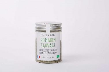 Pot de romarin bio et sauvage (rosmarinus officinalis) en vente sur notre site Epices Shira