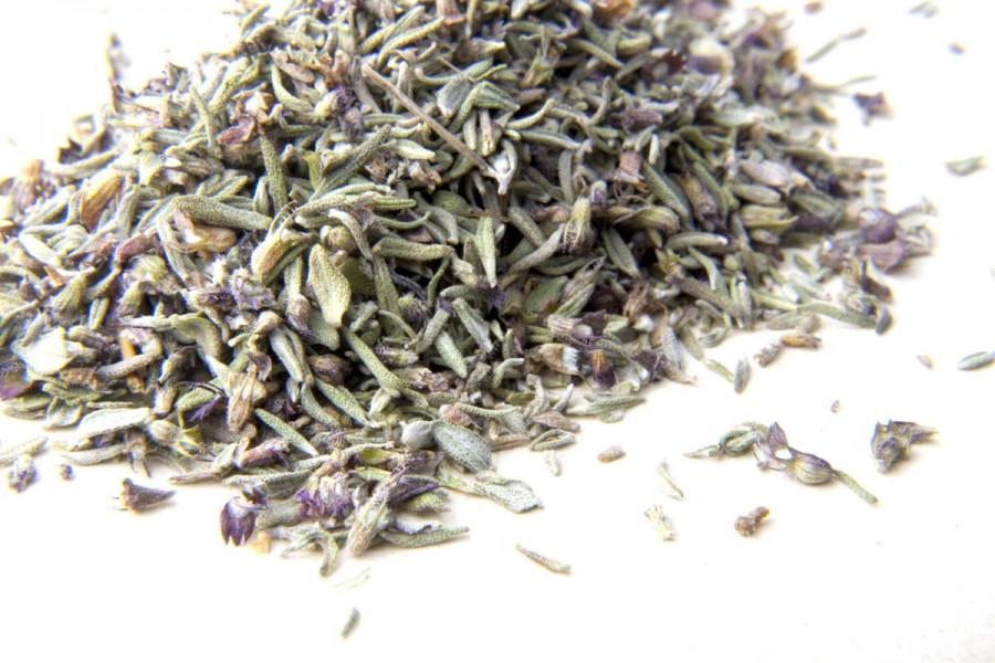 Thym bio et sauvage (thymus vulgaris) du Languedoc, en France, sélectionné par Epices Shira
