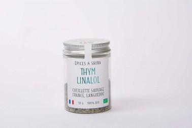 Thym bio du Languedoc (thymus vulgaris) en vente sur notre site Epices Shira