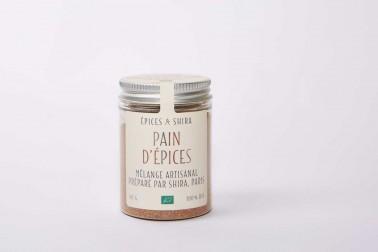 Pot de mélange pain d'épices bio en vente sur le site Epices Shira