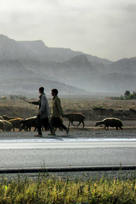 Paysage de la région d'Ispahan, en Iran, photo de Petr Kraumann