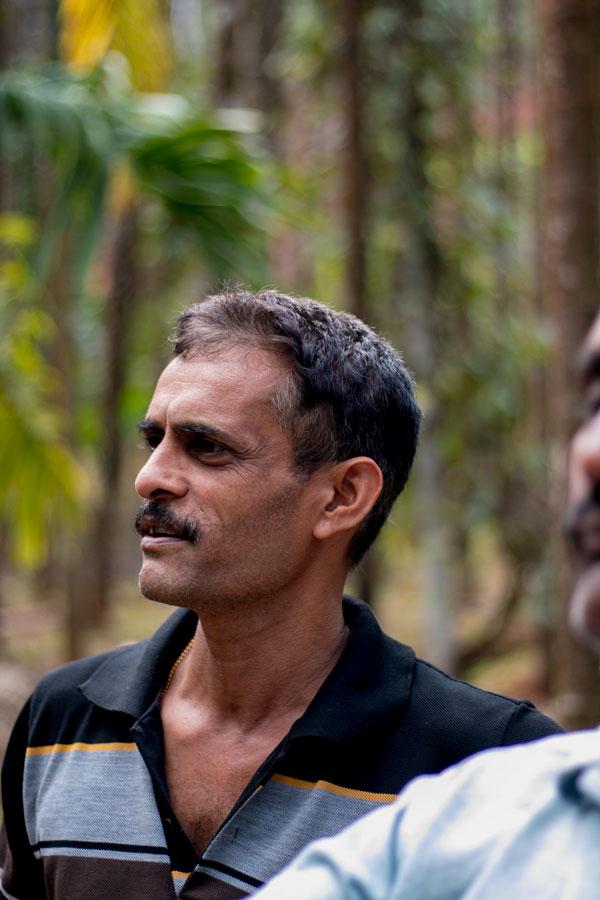Producteur d'épices dans le Karnataka, en Inde, avec qui nous collaborons