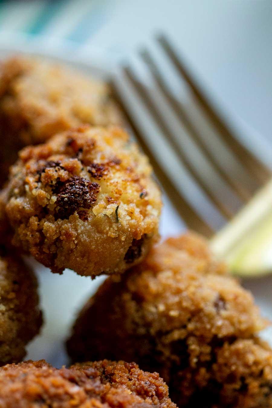 Nuggets de chou-fleur au cajun