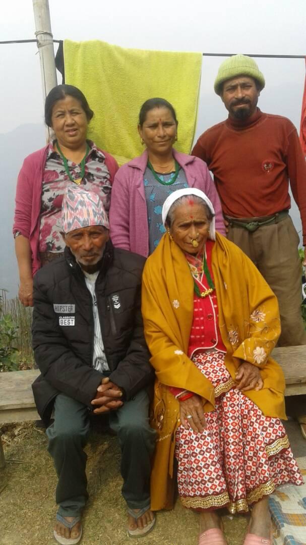 Famille du producteur avec qui nous collaborons au Bhoutan