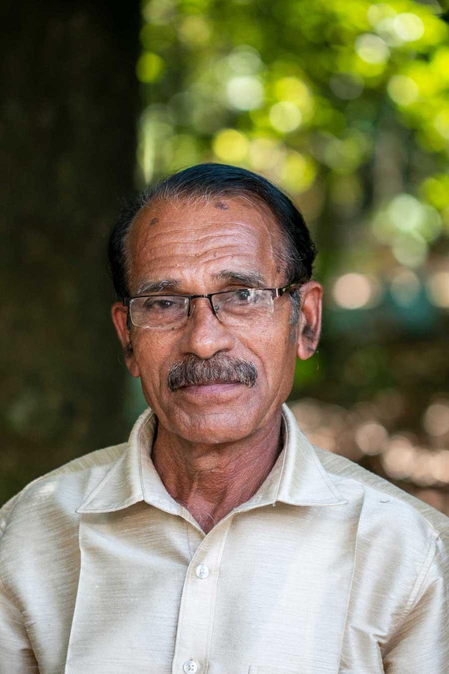 Producteur du Kerala, en Inde, avec qui nous collaborons