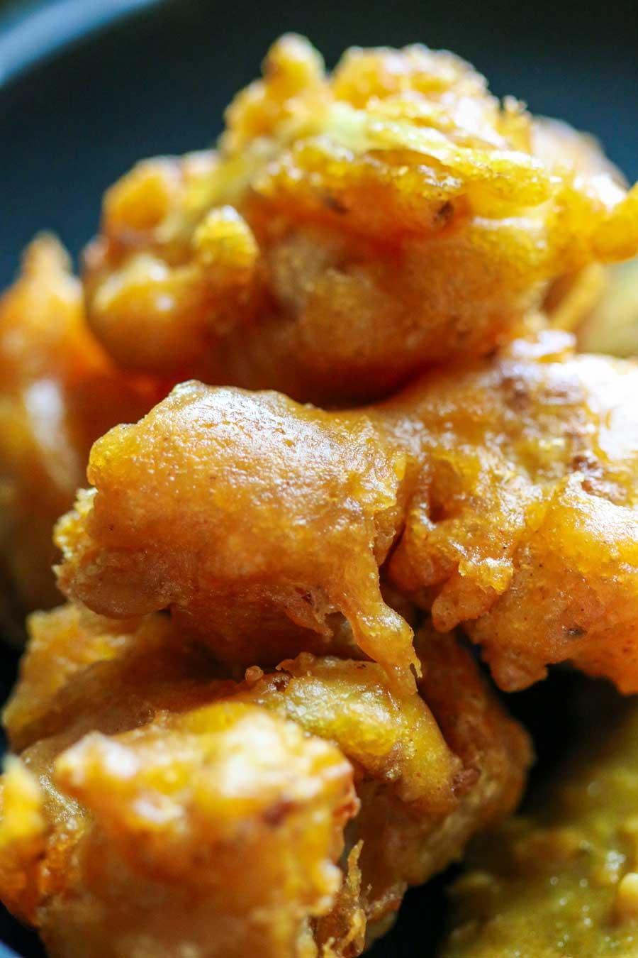 Nuggets de chou-fleur au curcuma et garam masala