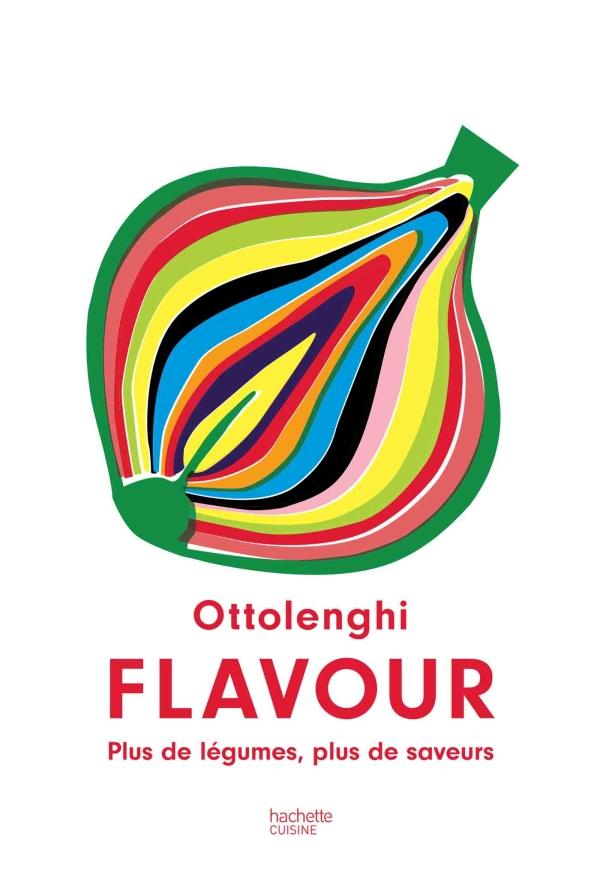 """Couverture du livre """"Flavour"""" Ottolenghi"""