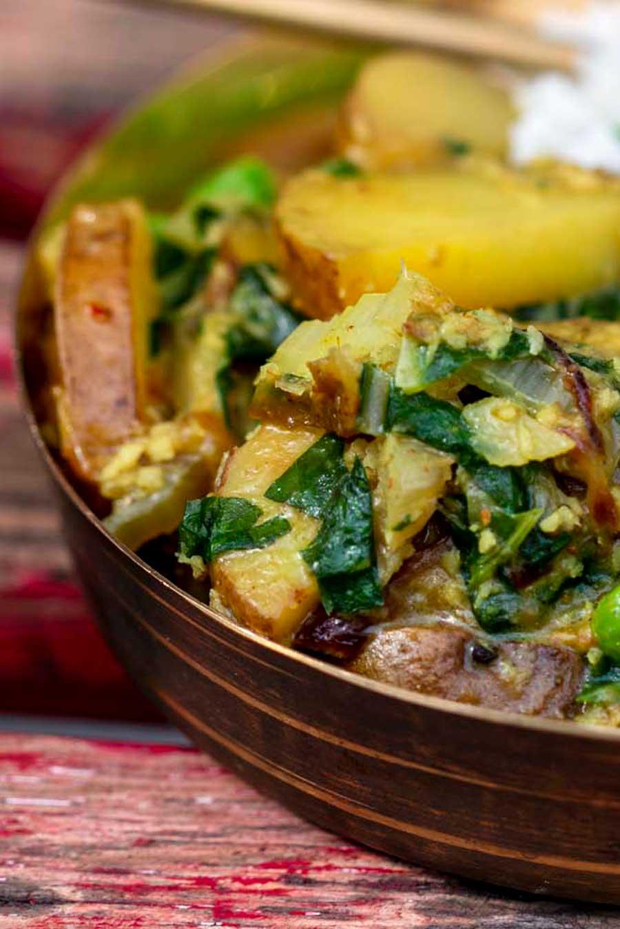 Recette de curry avec du galanga bio