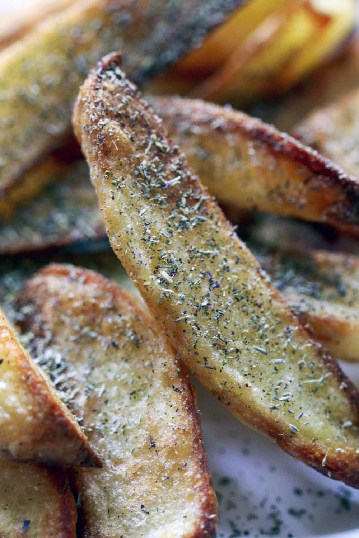 Frites herbes de Provence biologiques et sauvages