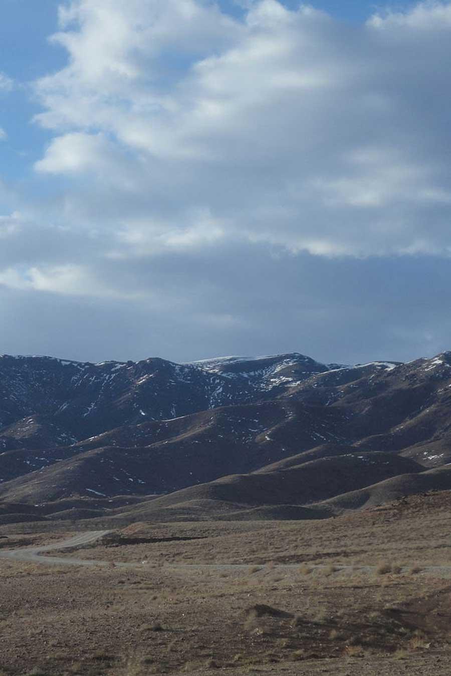 Paysage de la région de Khorazan e-Razavi, en Iran, photo de Hadi Karimi