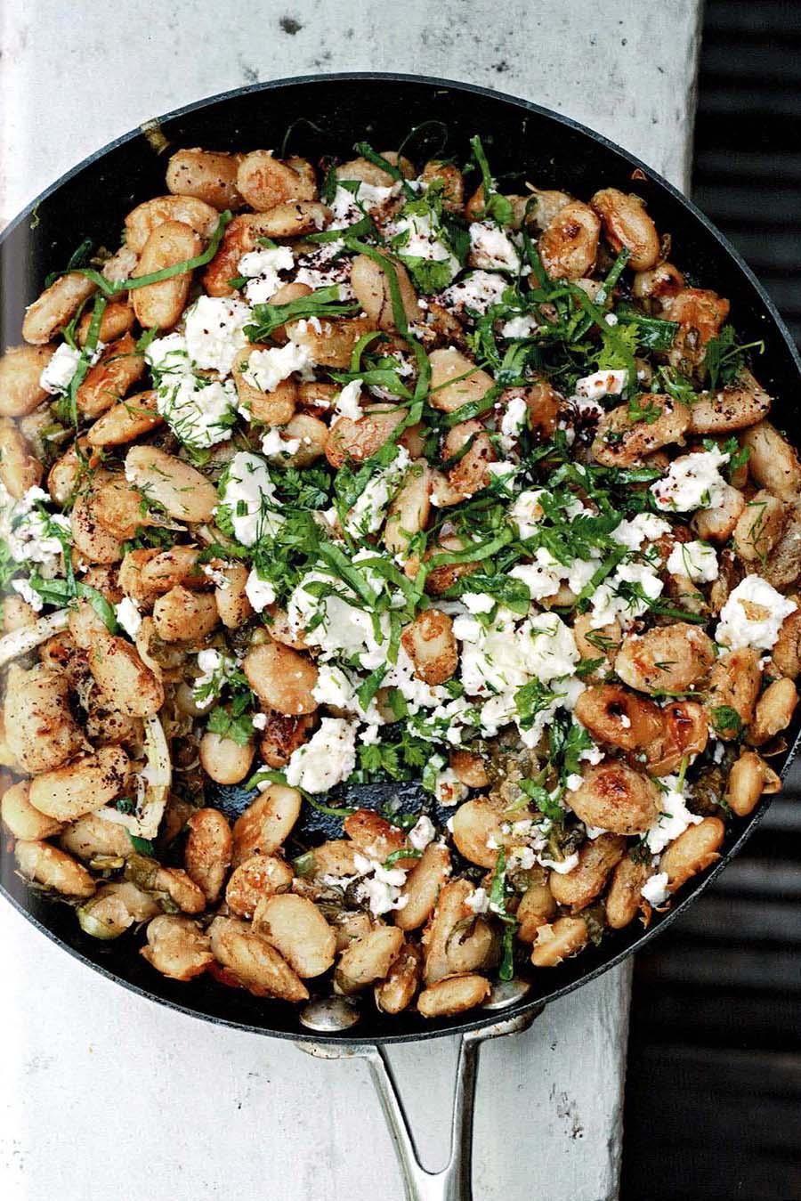 """Recette proposée dans le livre """"cuisine végétarienne du moyen-orient"""" de Salma Hage."""