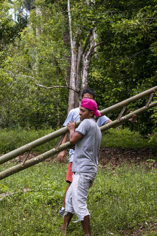 Producteurs de poivre biologique sur l'île de Sulawesi, en Indonésie, avec qui nous collaborons