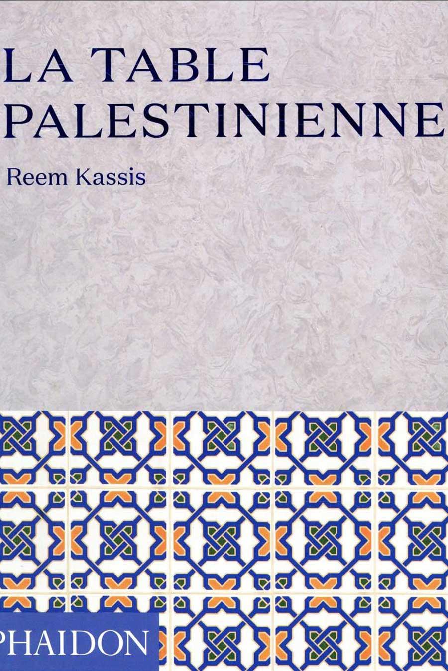 """Couverture du livre """"La table palestinienne"""""""