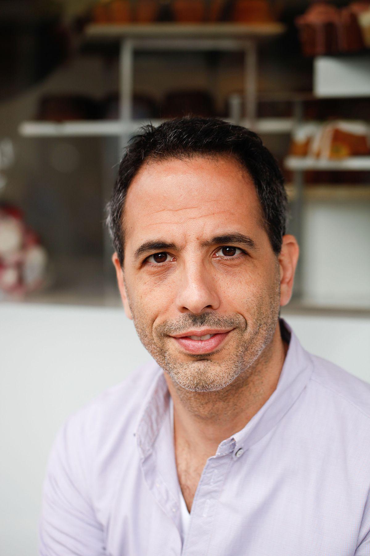 Portrait de Yotam Ottolenghi. Photo de Yotam Ottolenghi