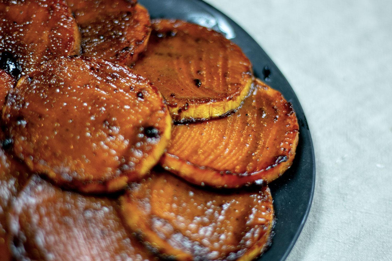 courge butternut laquée au cinq-épices, recette végétarienne, recette vegan, recette sans gluten, épices biologiques, Épices Shira